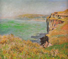 Cliff at Varengeville 1882 - Claude Monet