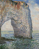 The Manneporte Etretat 1886 - Claude Monet