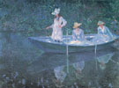 The Boat at Giverny 1887 - Claude Monet
