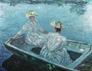 The Blue Boat 1887 - Claude Monet