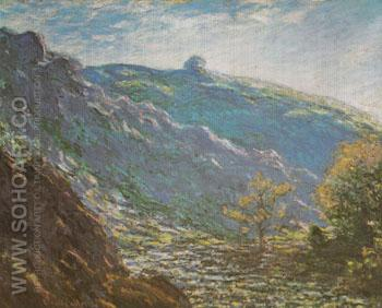 The Petite Creuse Sunlight 1889 - Claude Monet reproduction oil painting