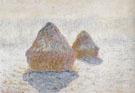 Hay Stacks Winter 1890 - Claude Monet