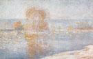 Ice Floes Bennecourt 1893 B - Claude Monet
