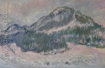 Mount Kolsaas Norway 1895 III - Claude Monet reproduction oil painting