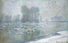 Ice Floes Morning Haze 1893 - Claude Monet