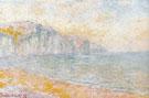 Cliffs at Pourville Morning 1896 A - Claude Monet