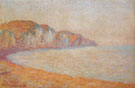 Cliffs at Pourville Morning1896 B - Claude Monet reproduction oil painting