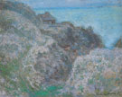 Gorge of the Petit Ailly Vareng 1896 - Claude Monet reproduction oil painting