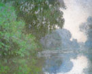 Morning on the Seine 1896 - Claude Monet