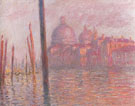 The Grand Canal and the Salute Church 1908 - Claude Monet reproduction oil painting