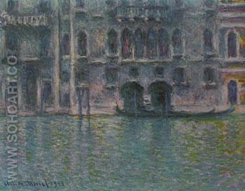 Palazzo da Mula Venice 1908 - Claude Monet reproduction oil painting