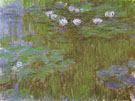 Water Lilies 1915 - Claude Monet reproduction oil painting