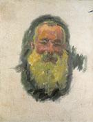 Self Portrait 1917 - Claude Monet reproduction oil painting