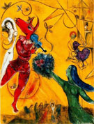 The Dance c1950 - Marc Chagall