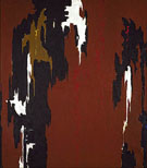 1946 H Indian Red and Black - Clyfford Still reproduction oil painting