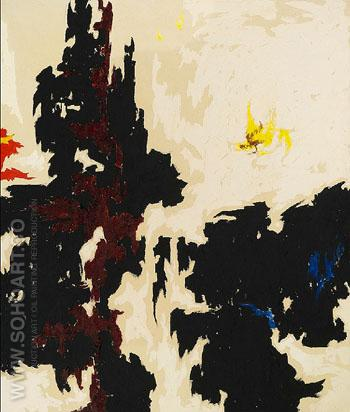 1947 Y No 2 - Clyfford Still reproduction oil painting