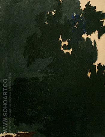 1950 E - Clyfford Still reproduction oil painting