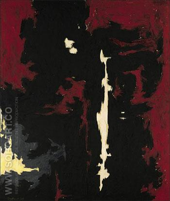 1949 A No 1 1949 - Clyfford Still reproduction oil painting