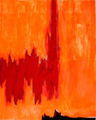 1952 PH 4 - Clyfford Still reproduction oil painting