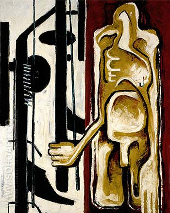 PH 343 1937 - Clyfford Still reproduction oil painting