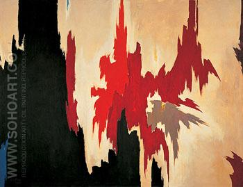 Untitled 1956 - Clyfford Still reproduction oil painting