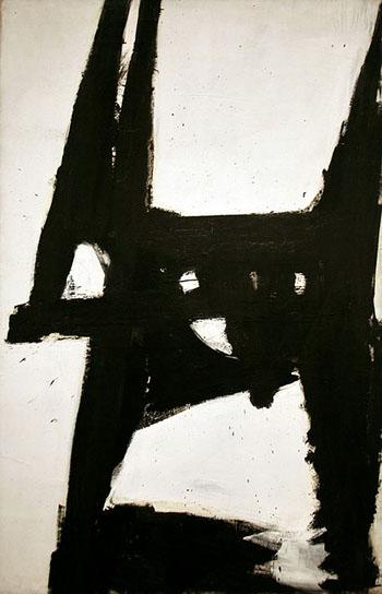 Four Square 1956 - Franz Kline reproduction oil painting