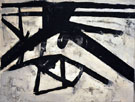 High Street 1950 - Franz Kline reproduction oil painting
