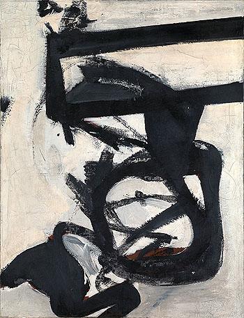 Nijinsky 1950 - Franz Kline reproduction oil painting