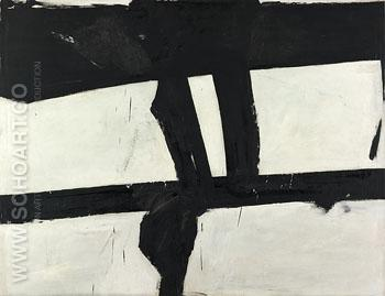 Painting 1952 - Franz Kline reproduction oil painting