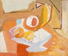 Still Life Fruit 1946 - Franz Kline reproduction oil painting