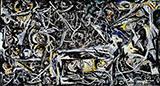 Night Mist c1944 - Jackson Pollock