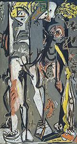 Two c1943 - Jackson Pollock