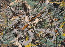 Untitled Green Silver c1949 - Jackson Pollock