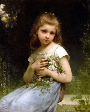 My Daisies 1901 - Jules Cyrille Cave reproduction oil painting