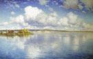 The Lake 1896 - Konstantin Yakovlevich Kryzhitsky reproduction oil painting