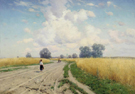 The Road 1899 - Konstantin Yakovlevich Kryzhitsky reproduction oil painting