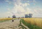 The Road 1899 - Konstantin Yakovlevich Kryzhitsky