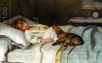 In The Land of Nod - Lance Calkin reproduction oil painting