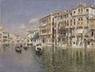Grand Canal Venice N D - Rubens Santoro reproduction oil painting