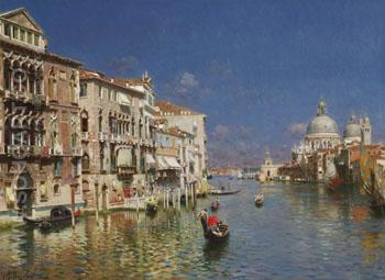 The Grand Canal Venice B - Rubens Santoro reproduction oil painting