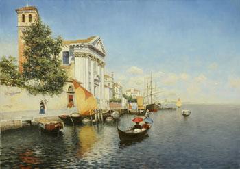 Venice - Rubens Santoro reproduction oil painting