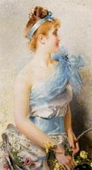 A Spring Beauty 1888 - Vittorio Matteo Corcos