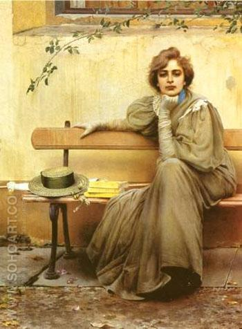 Sogni - Vittorio Matteo Corcos reproduction oil painting
