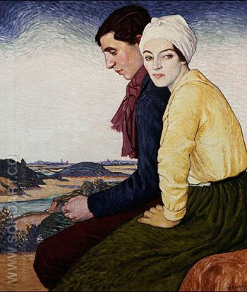 The Meeting Place - William Strang reproduction oil painting