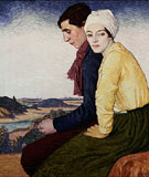 The Meeting Place - William Strang