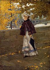 Along The Seine c1892 - Maurice Prendergast