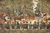 Central Park New York 1901 - Maurice Prendergast