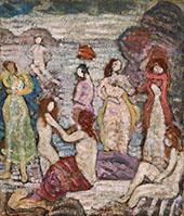 Eight Bathers c1918 - Maurice Prendergast
