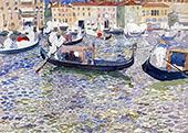 Grand Canal Venice c1898 - Maurice Prendergast