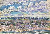 Saint Malo c1907 - Maurice Prendergast